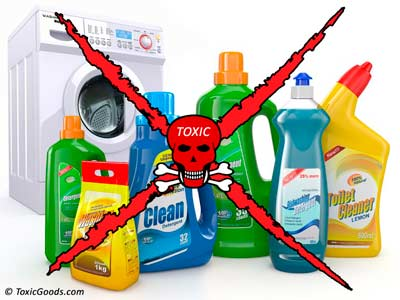 Toxic laundry chemicals